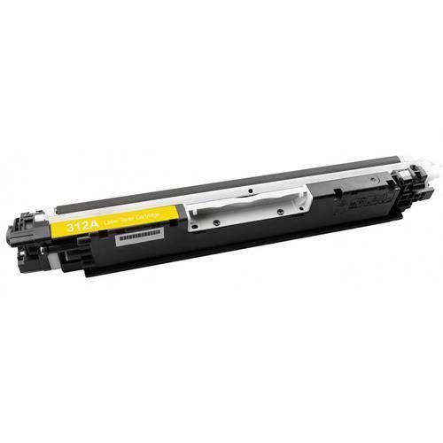 Toner Compatível Hp Ce312a Amarelo