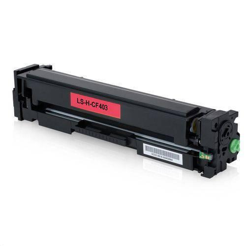 Toner Compatível Hp Cf403a Magenta 201a