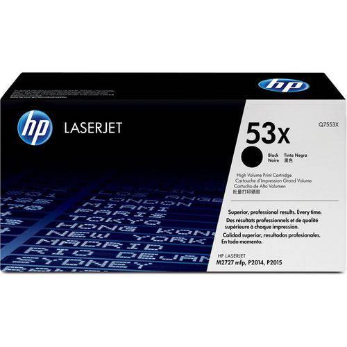 Toner Hp Q7553xb 53x Preto Laserjet P2014 P2015 M2727