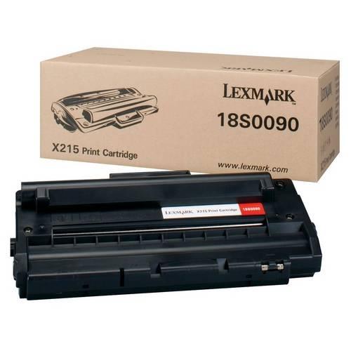 Toner Lexmark 18S0090 Preto