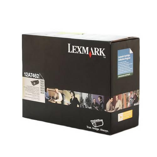 Toner Lexmark 12A7462 Preto