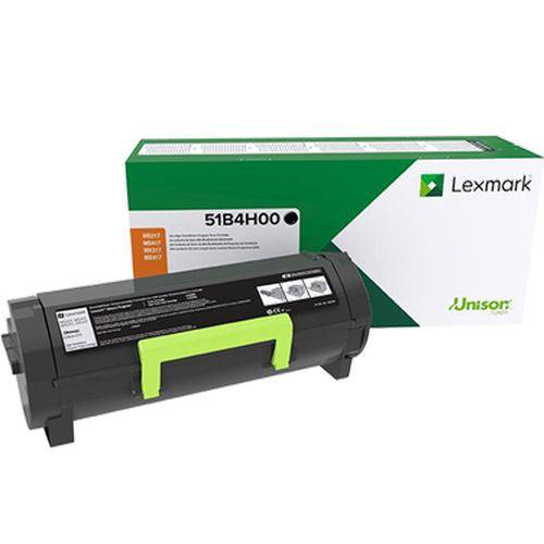 Toner Lexmark 51b4h00 51b4   Ms417 Ms517 Mx417 Mx517 417dn 517dn 417de 517de   Original 8.5k
