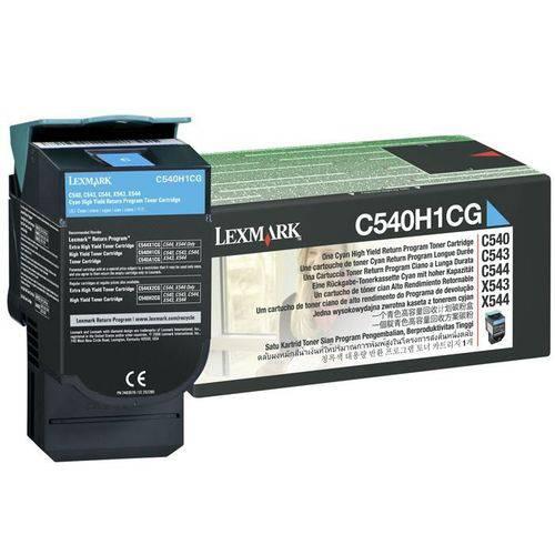 Toner Lexmark C540h1cg Ciano 13092