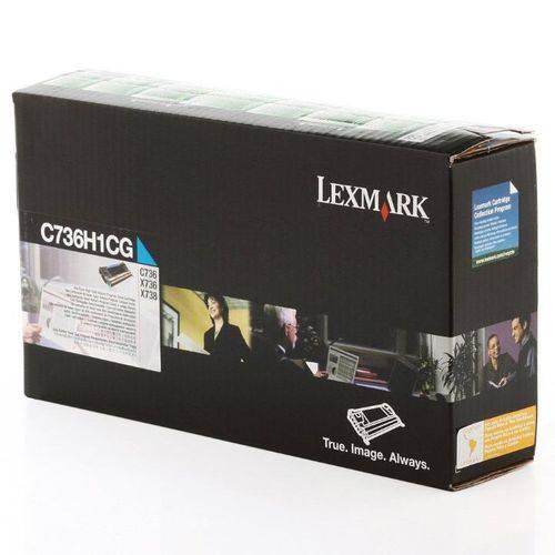 Toner Lexmark C736 C736H1CG C736dn Original
