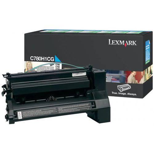 Toner Lexmark Ciano - C780h1cg