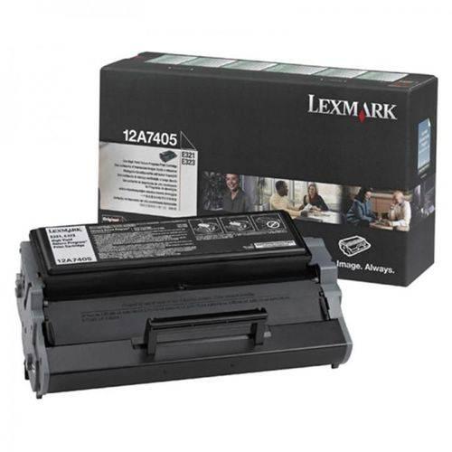 Toner Lexmark E323 E321 12A7405 Original