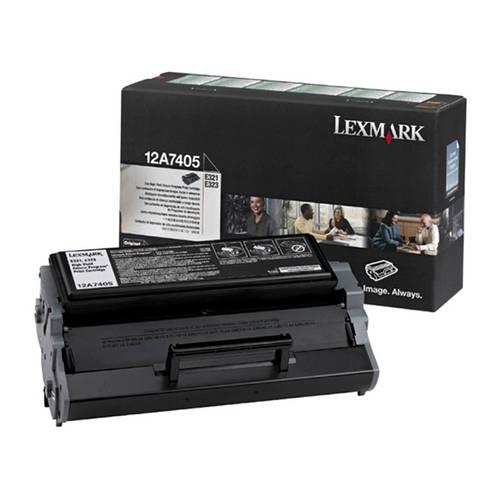 Toner Lexmark Original 12a7405 Black