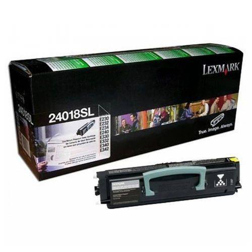 Toner Original Lexmark 24018sl E230 E232 E234 E240 E330 E332 E340 E342 2.500 Paginas