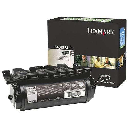Toner Lexmark Original 64018SL Black