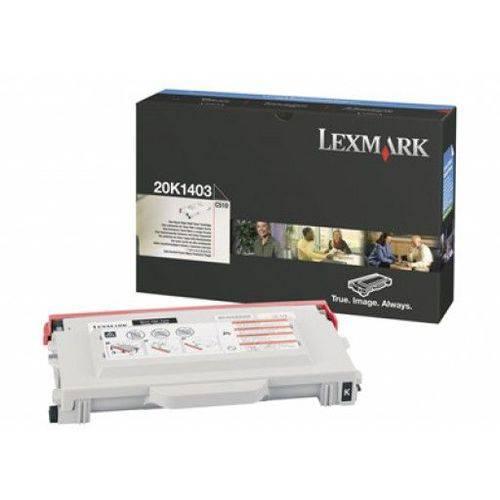 Toner Lexmark Preto - 20k1403