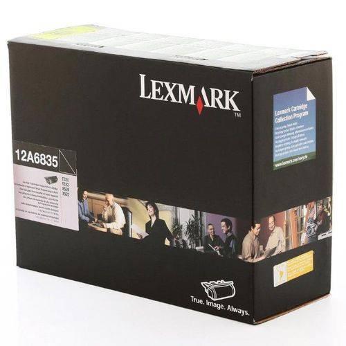 Toner Lexmark T520 522 12A6835 T522 Original