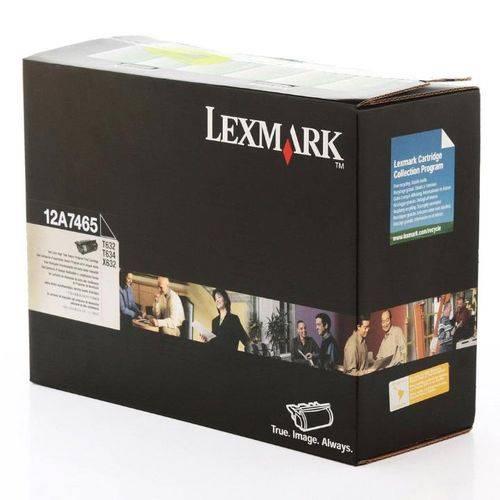 Toner Lexmark T630 12A7465 T632 T634 Original