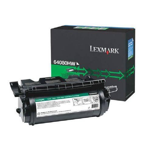 Toner Original Lexmark 64080HW T640 T642 T644 X642 21k