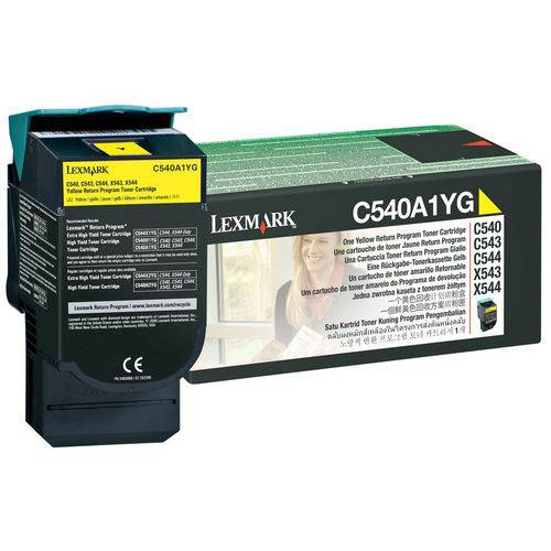 Toner Original Lexmark C540a1mg Magenta   Lexmark C540 C543 C544 X543 X544 X548   1k