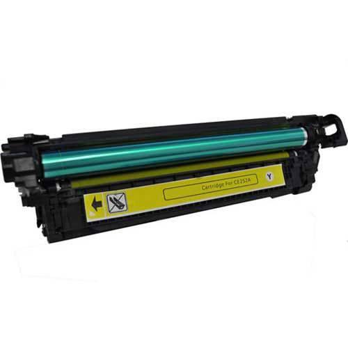 Toner Similar HP 504A Amarelo CE252A Compativel HP CP3525 CP3525N CP3525DN CP3525X CM3530 CM3525 CM3530FS CM3525DN CM3525N CM3525X CM3530 CM3530FS MFP