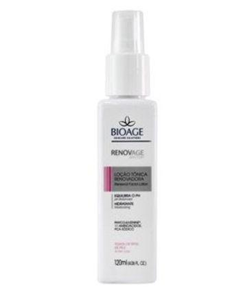 Tonico Facial Bioage Renovage Loção Renovadora 120ml