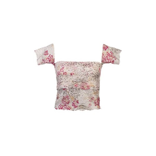 Top Cropped Renda Gipsy Floral P