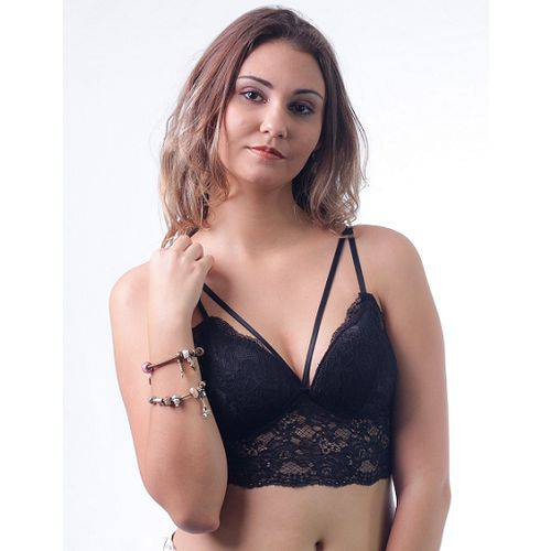 Top Cropped Strappy Bra