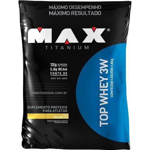 Top Whey 3W - 1800G - Max Titanium