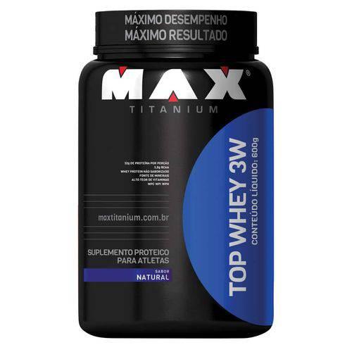 Top Whey 3w (600g) Max Titanium