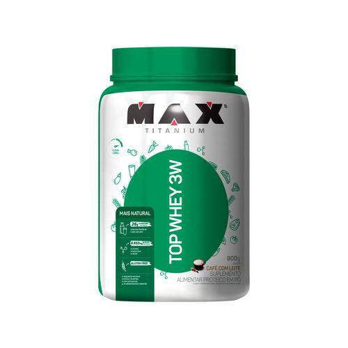 Top Whey 3w 900g Max Titanium - Mais Natural