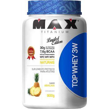 Top Whey 3w 900g - Max Titanium Sabor:Abacaxi