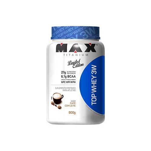 Top Whey 3w Edição Limitada - 900g - Max Titanium