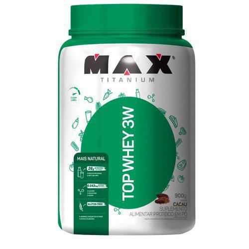 Top Whey 3w Mais Natural - 900g - Max Titanium