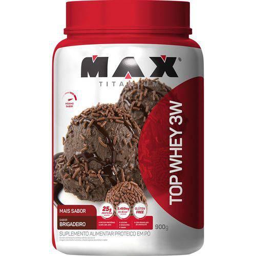Top Whey 3w Mais Sabor - 900g - Max Titanium
