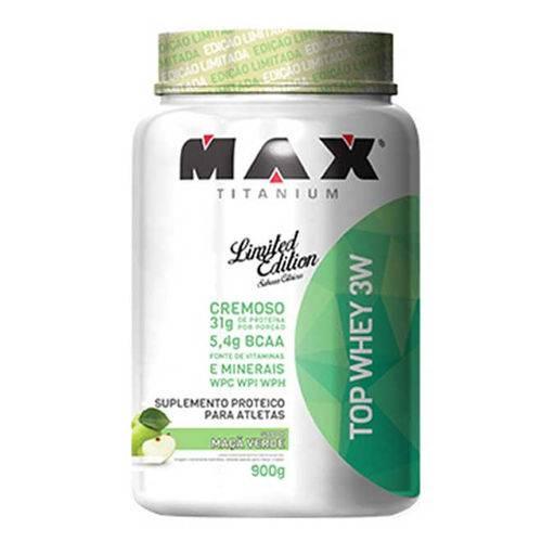 Top Whey 3w - Max Titanium 900g - Maçã Verde