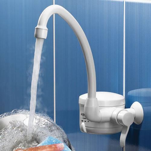 Torneira Elétrica 127V/4800W Loren Easy Branco Lorenzetti - 7550037
