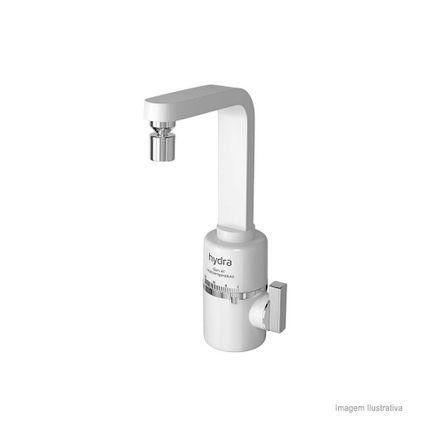 Torneira Elétrica Multitemperatura de Bancada Slim 5500W 220V Branca Hydra