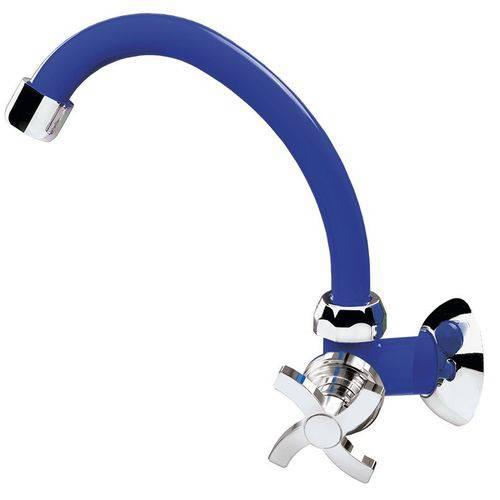 Torneira Móvel Azul Bic Quadriseta Cozinha Acquabios