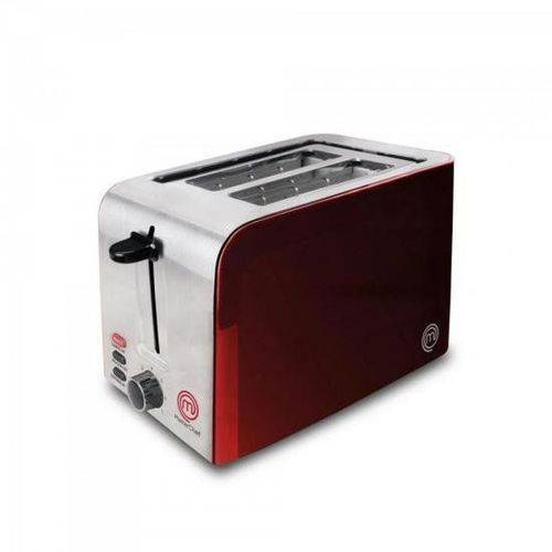 Torradeira 2 Pães To2002v 127v Vermelha Master Chef