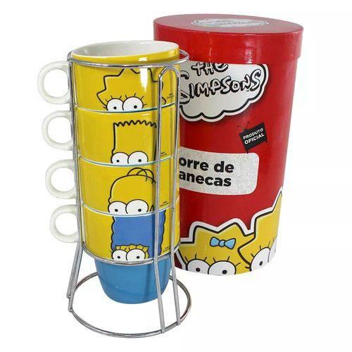 Torre de Canecas Família Simpsons