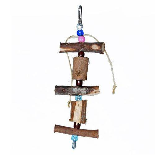 Totem Toy For Bird para Pássaros Colorido