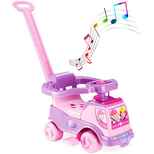 Totoka Musical Menina com Blocos Carrinho de Passeio Musical - 6001