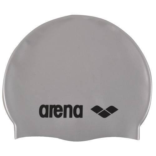 Touca para Natação Classic Silicone Arena - Cinza