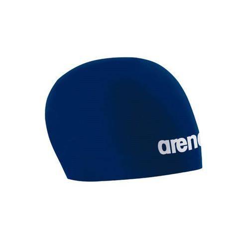 Touca de Natação de Silicone 3d Race Azul Arena
