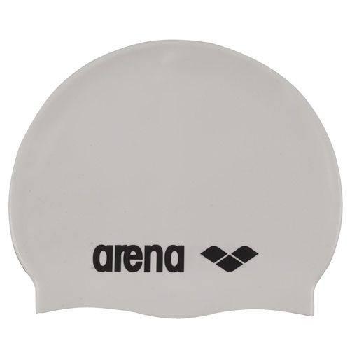 Touca de Silicone Arena Classic / Branca