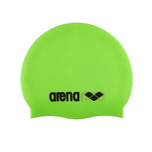 Touca de Silicone Arena Classic / Verde-Limão