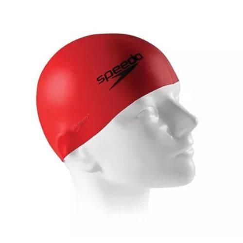 Touca Speedo Flat Cap - Vermelho