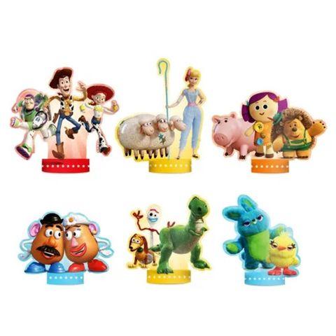 Toy Story 4 Decoração de Mesa C/6 - Regina