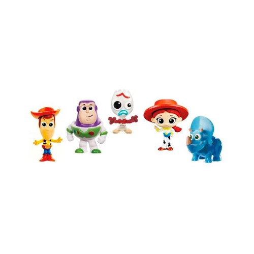Toy Story 4 - Pack com 5 Mini Figuras Gjn36 - MATTEL