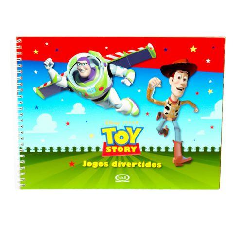 Toy Story - Jogos Divertidos - Brochura - Maria Alzira Brum Lemos