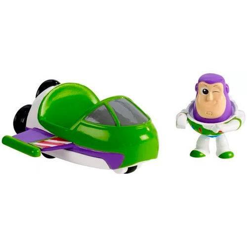 Toy Story Mini Veículos Buzz e Nave Espacial - Mattel