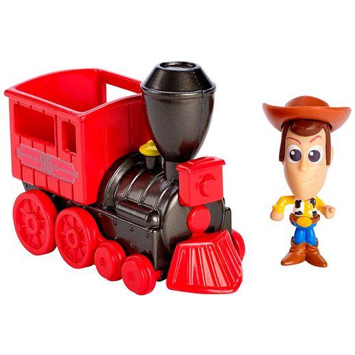 Toy Story Mini Veículos Woody e Trenzinho - Mattel