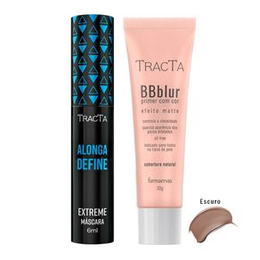 Tracta Extreme BB Blur - Máscara para Cílios + BB Blur Escuro Kit