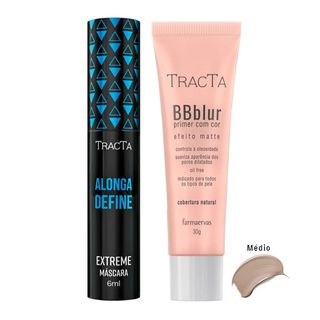 Tracta Extreme BB Blur - Máscara para Cílios + BB Blur Médio Kit