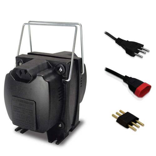 Transformador de Voltagem para Potência Até 357 Watts - 290 - Force Line (110v/220v)